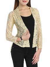 beige net shrug -  online shopping for Shrugs