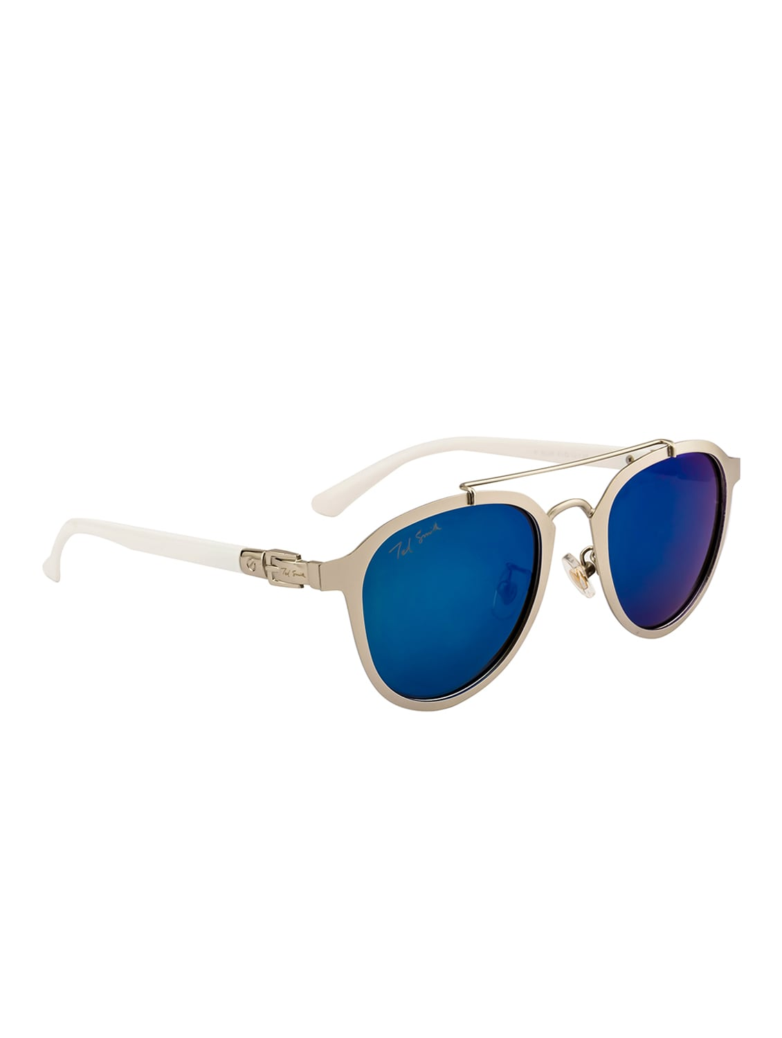 b9b917a9a9 Buy Ted Smith Unisex Aviator Silver Polarized Sunglasses for Men from Ted  Smith for ₹1501 at 65% off
