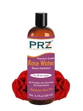 PRZ 100% Pure Natural Rosewater (Gulab Jal) (No Chemical | No Preservatives) (100ml) - By