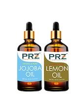 PRZ Combo Of Jojoba Oil & Lemon Oil For Hair Growth, Skin Care (Each 15ML ) - By