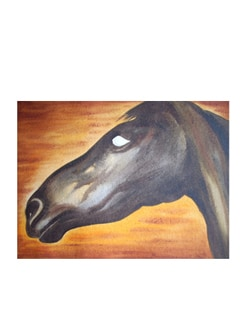 Horses Head By Rajib Bag (Archival Quality Print) - Artfairie