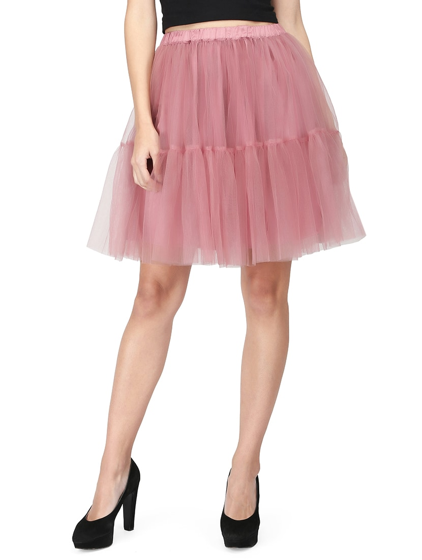 7368f67bdcf488 Buy Pink Tulle Skirt for Women from Eavan for ₹999 at 0% off