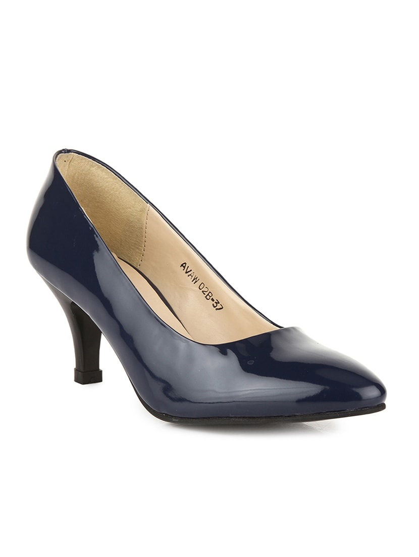 2e9f3c54b2f Buy Navy Patent Leather Slip On Pumps for Women from Bruno Manetti for  ₹1378 at 54% off