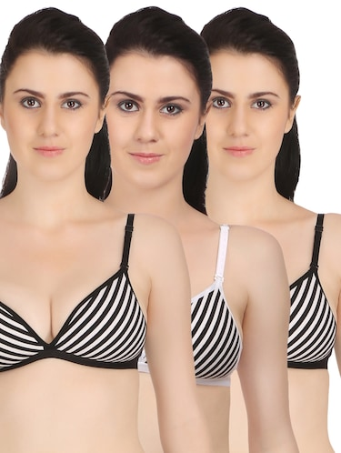 87290d23158 Buy Black Demi Cup Bra With Lace for Women from Peches for ₹1499 at ...