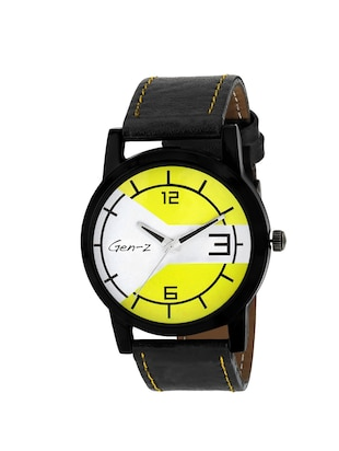 Gen-Z combo of 3 Social yellow army watches - 14871534 - Standard Image - 4
