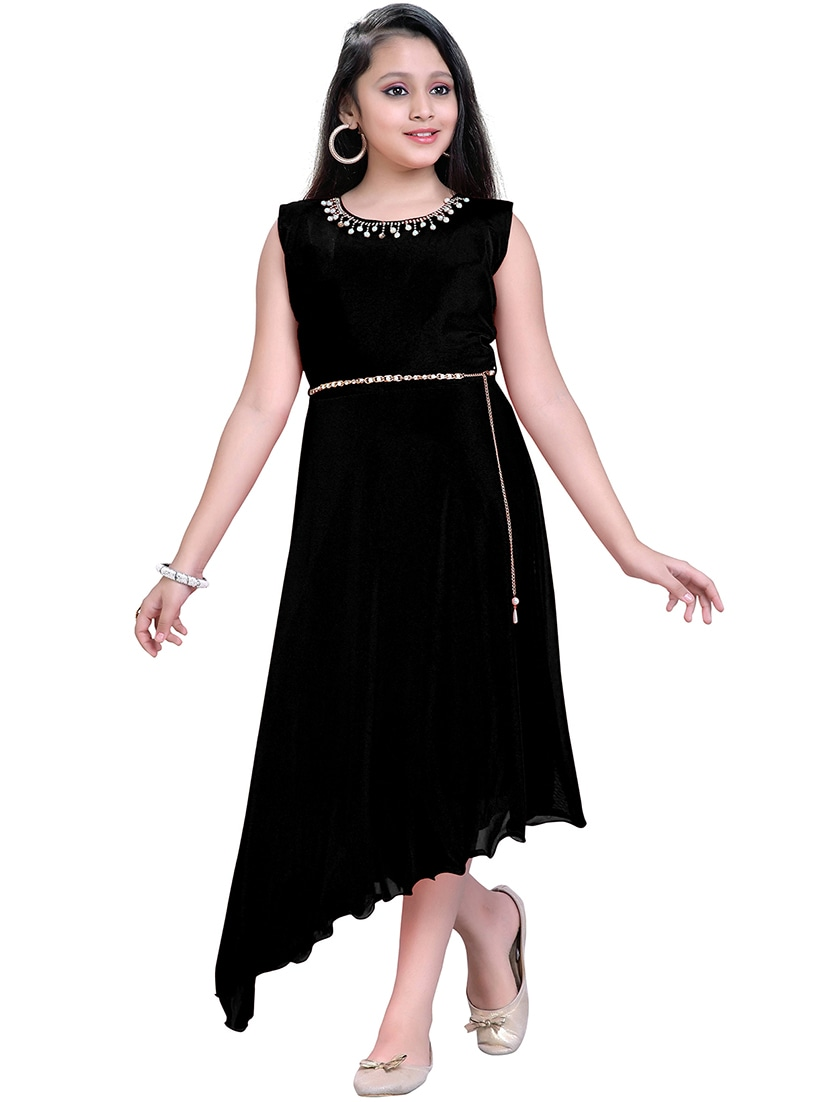 4401da0b1 Buy Black Net Frock for Women from Aarika for ₹640 at 81% off | 2019  Limeroad.com