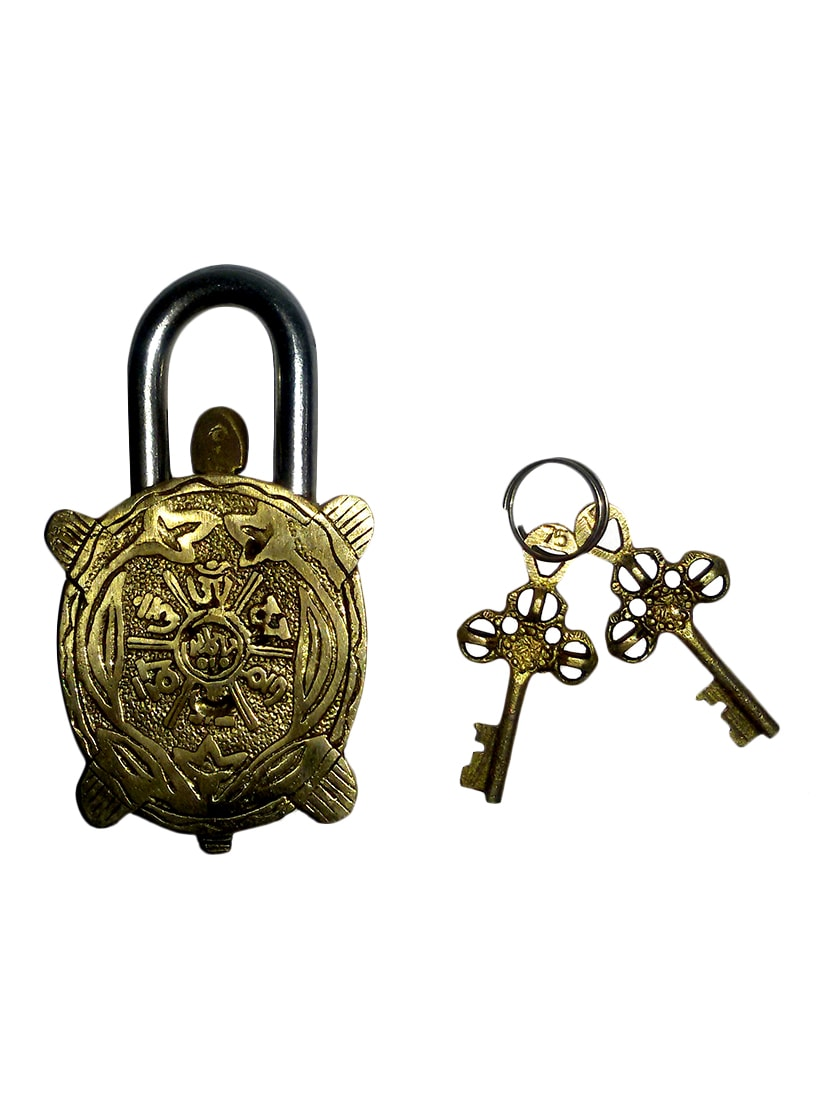 Buy Brass Statue Of Tortoise Lock Handicrafts Product By Vyomshop