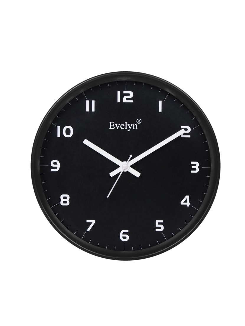 959ad1e882a Buy Plastic Round Wall Clock by Evelyn - Online shopping for Wall ...