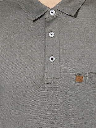 grey cotton pocket t-shirt - 14880151 - Standard Image - 4