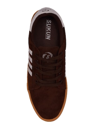 brown Suede lace up sneaker - 14885086 - Standard Image - 4