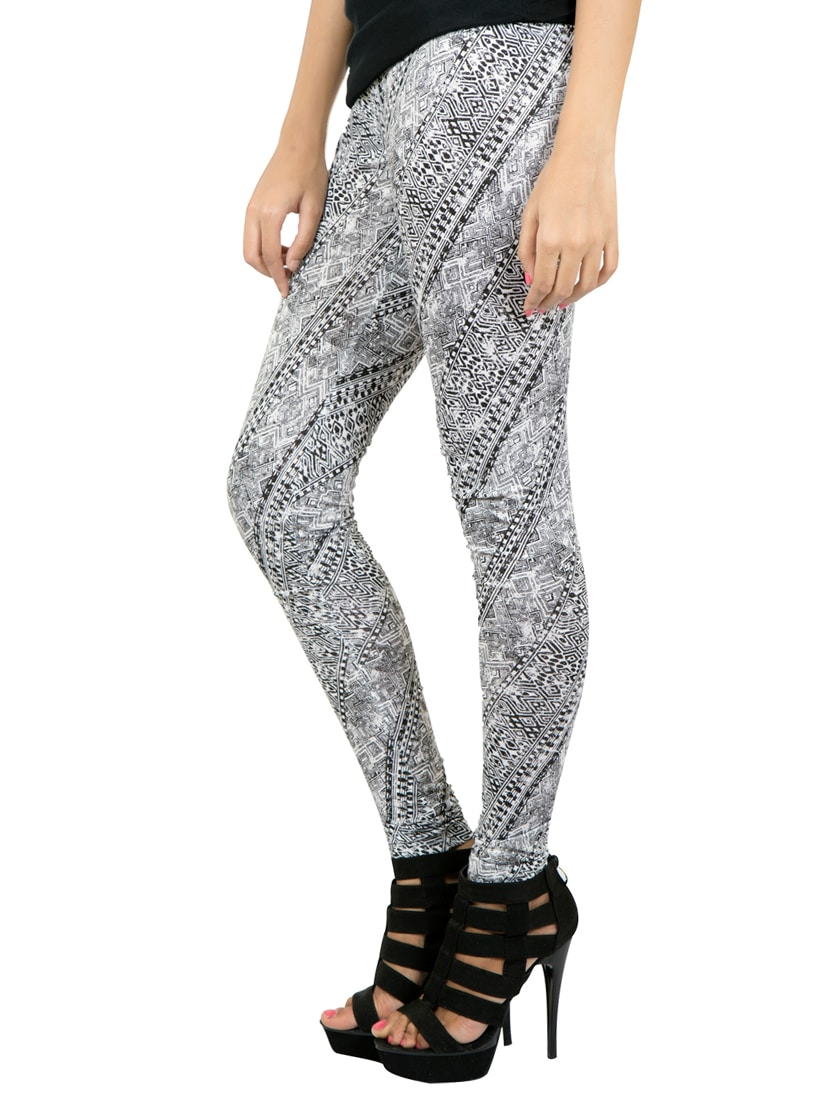 4643b379d3f1c4 Buy Multi Colored Printed Leggings for Women from Iniya for ₹262 at 41% off  | 2019 Limeroad.com