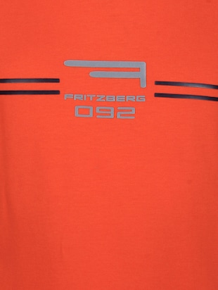 orange cotton t-shirt - 14896191 - Standard Image - 4