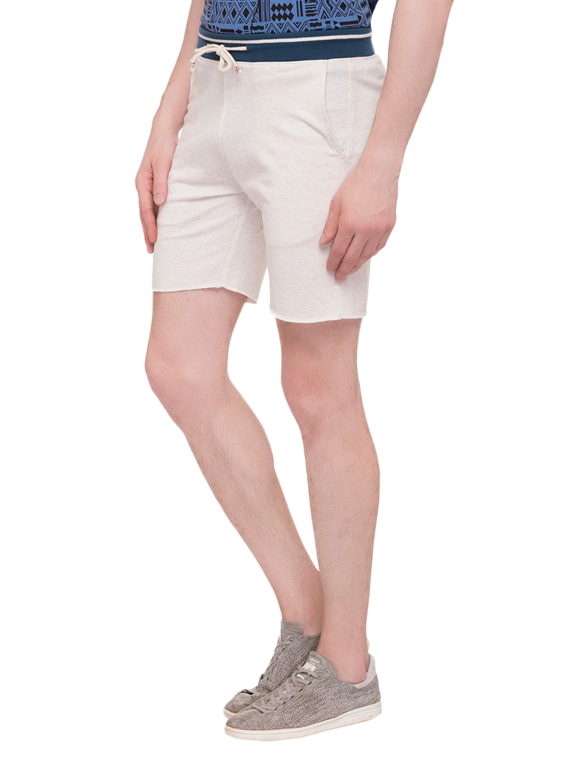 a2c265dbd2c0 Buy White Cotton Blend Shorts by Status Quo - Online shopping for Shorts in  India | 14898641