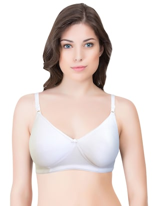 set of 3 multi colored cotton bra - 14899500 - Standard Image - 4