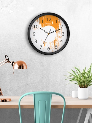 Wall Clocks Online Buy Wooden Wall Clock in India