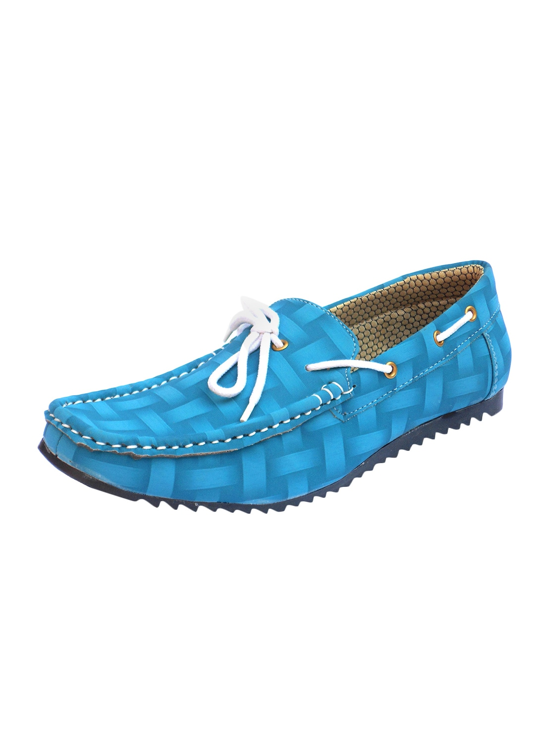 d8804b03548 Buy Blue Leatherette Slip On Loafer for Men from Blueway for ₹506 at 49%  off