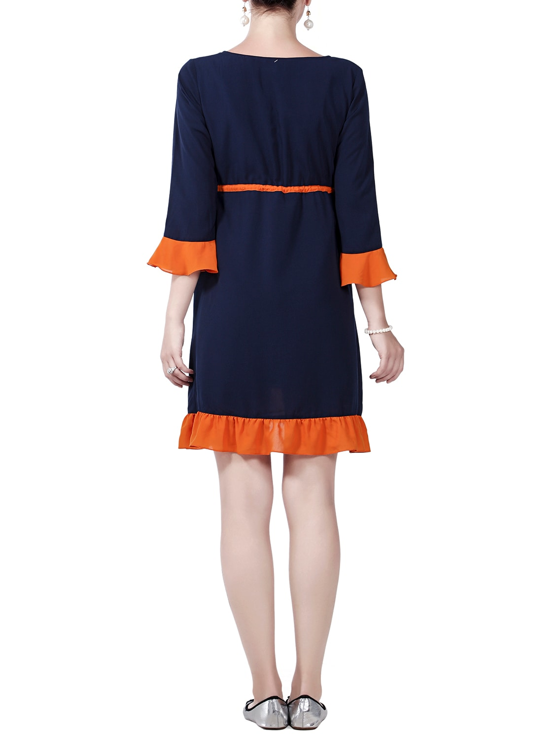 0022dcc6ea0 Buy Navy Blue Maternity Wear Dress for Women from Innovative for ₹1042 at 30%  off