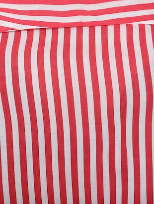 Red striped top - 14907878 - Standard Image - 4