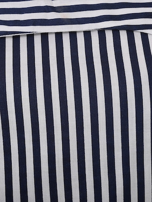 blue striped top - 14907884 - Standard Image - 4