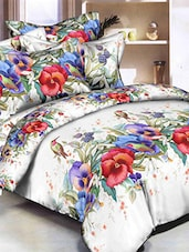 Polycotton Double Bedsheet With 2 Pillow Covers -  online shopping for bed sheet sets