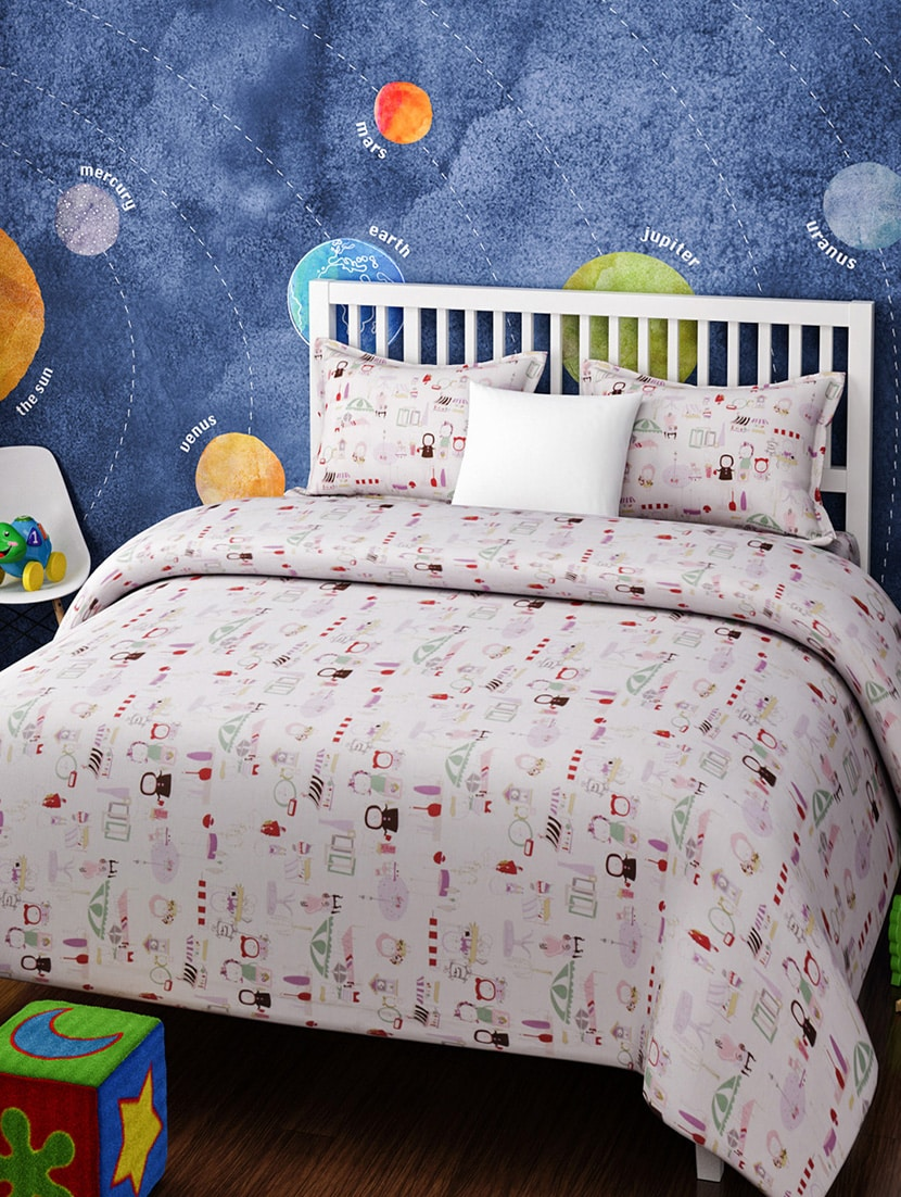 Buy Kids Single Bedsheet Set By Urban Dream   Online Shopping For Bedsheets  In India | 14916242