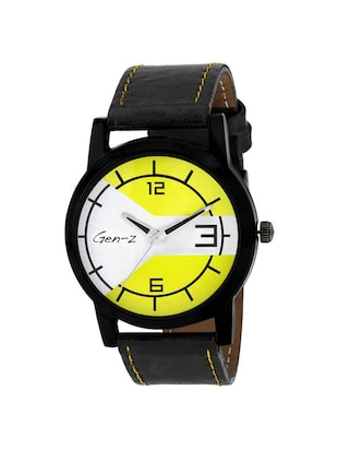 GEN-Z Combo of two Classic and Yellow Watches - 14918922 - Standard Image - 4