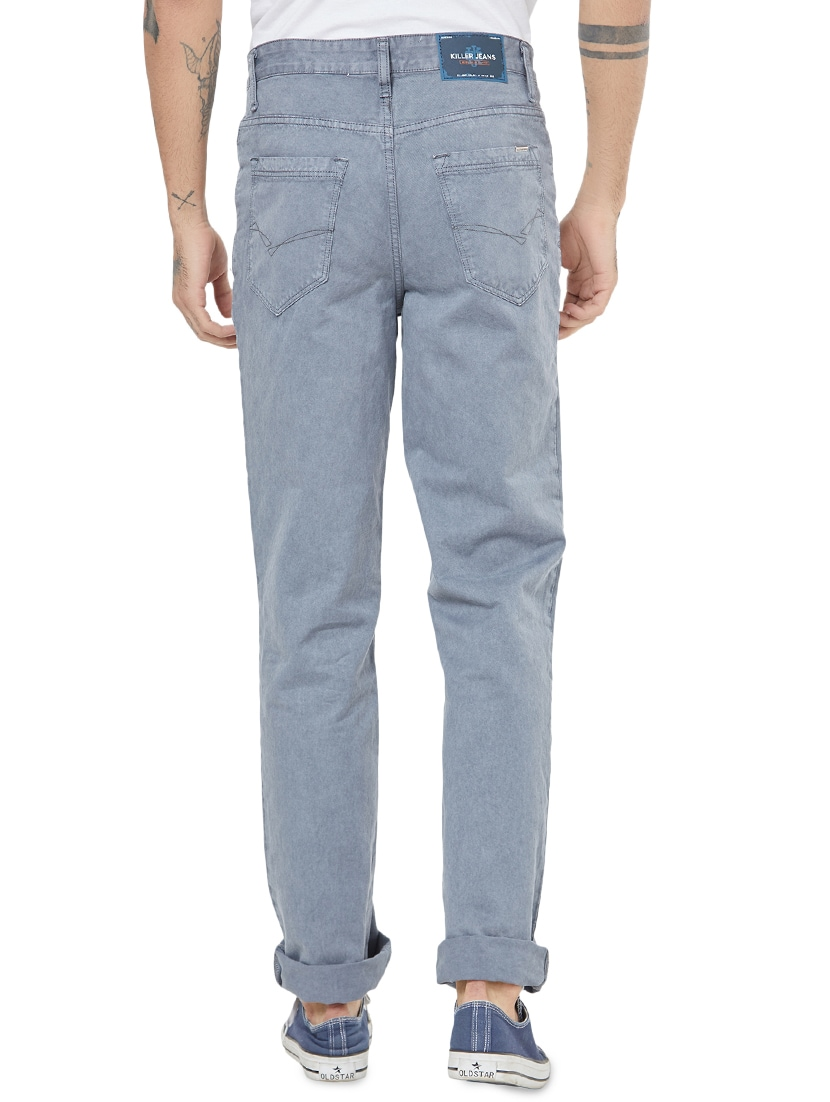 ca662e8c Buy Grey Denim Plain Jeans for Men from Killer for ₹1399 at 50% off | 2019  Limeroad.com