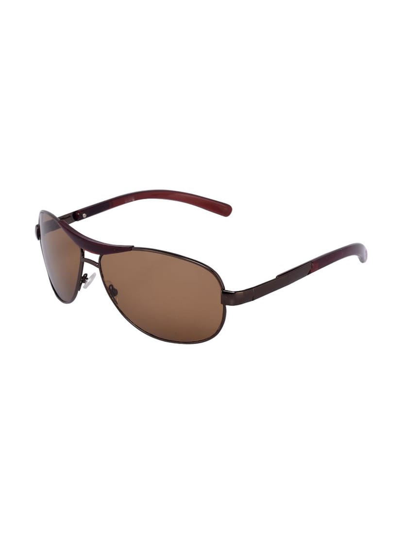 de88823ae296 Buy Yaadi Brown Wrap Around Sunglasses for Women from Yaadi for ₹289 at 68%  off | 2019 Limeroad.com
