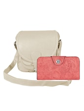 multi colored leatherette  combo handbag -  online shopping for handbags
