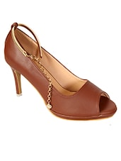 brown ankle strap sandal -  online shopping for sandals