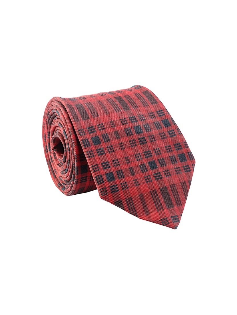 f1aa839f4b52c Buy Red Silk Tie by Chokore - Online shopping for Ties in India ...