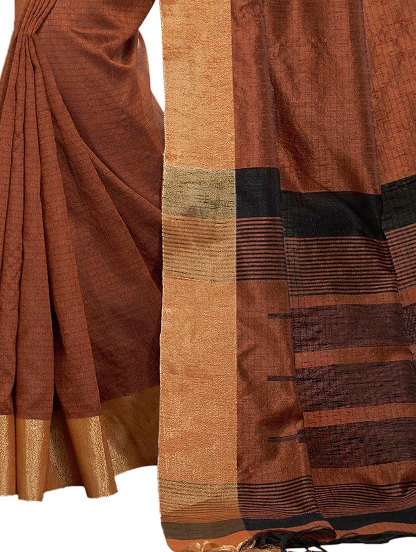 Image result for भूरा रंग की सारी