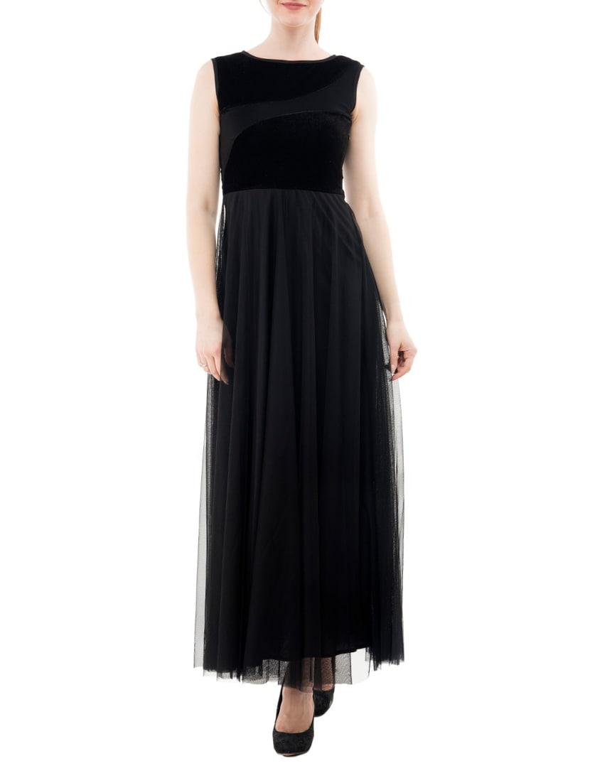 f8277326aa26 Buy Black Velvet Gown Dress for Women from Karmic Vision for ₹1509 at 40%  off