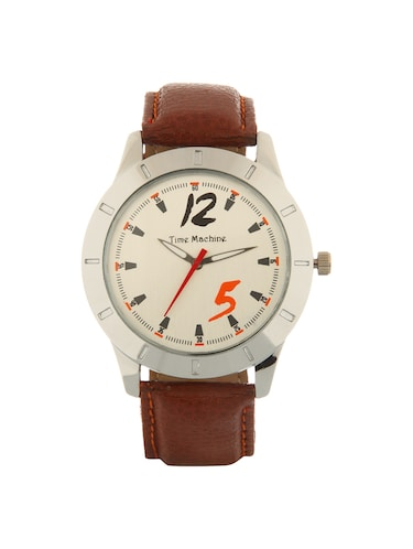 Time Machine round dial Analog Watch - 14965834 - Standard Image - 1