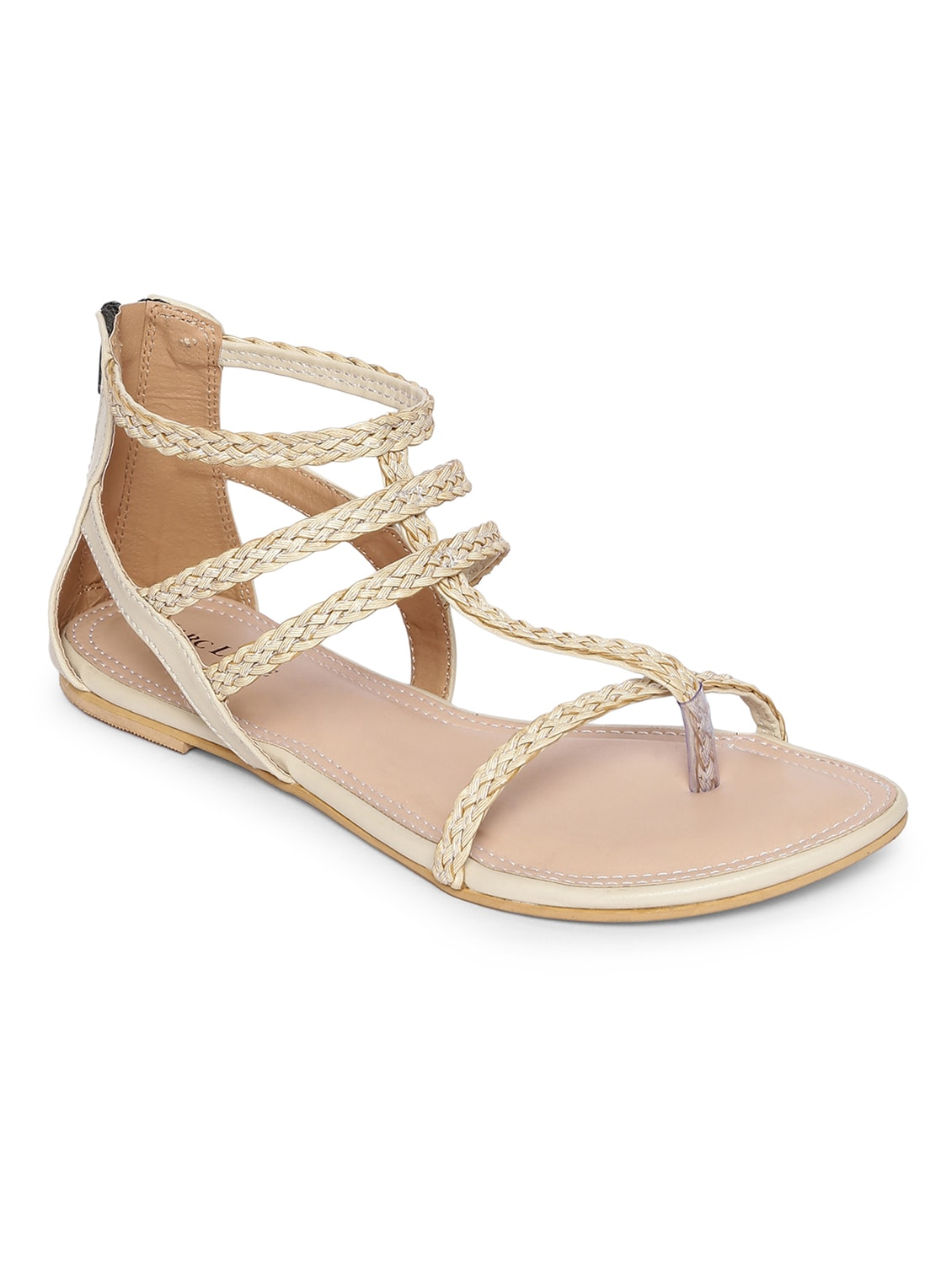 bbbe793c856c Buy Beige Gladiators Sandal for Women from Marc Loire for ₹1047 at 40% off