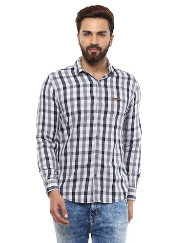 d95343461b1a Mufti Casual shirts - Buy Casual shirts for Men Online in India ...