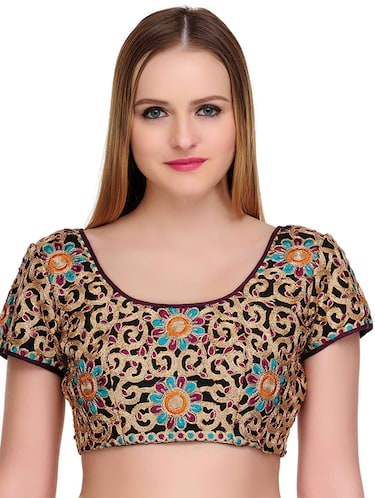 Fuchsia Designs multi colored embroidered blouse - 14999484 - Standard Image - 1