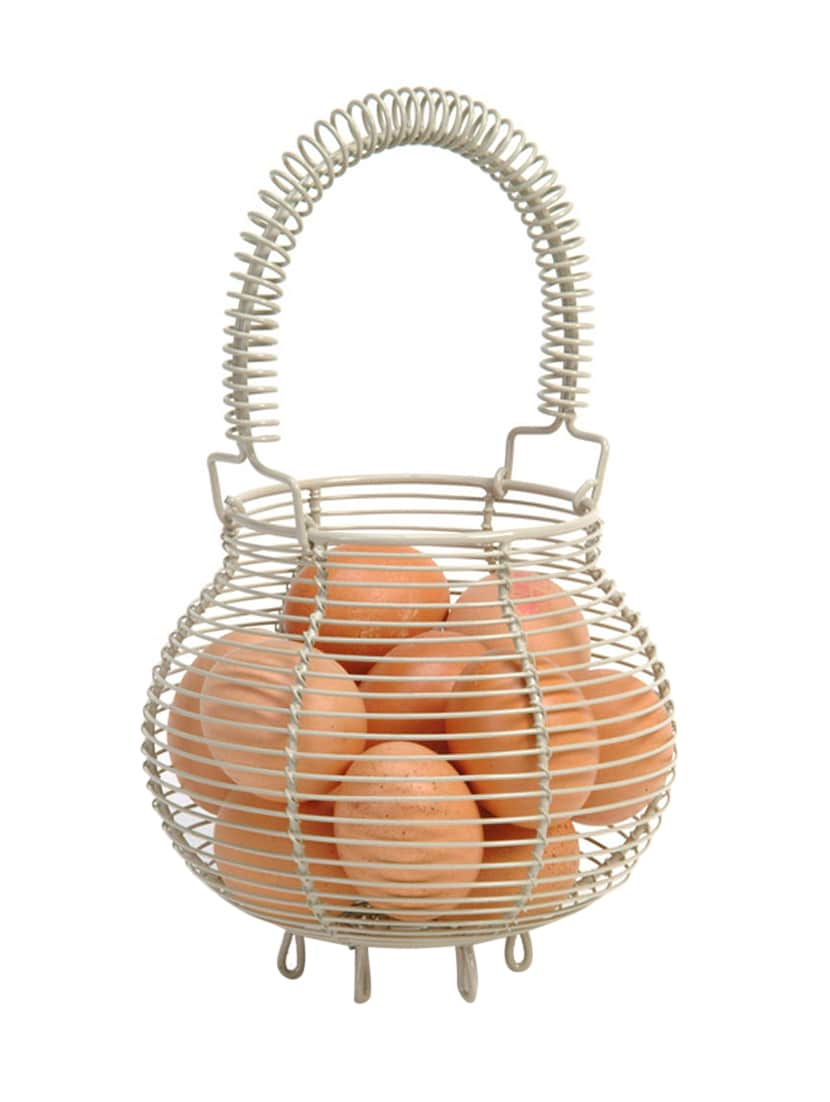Buy Wire Egg Basket by Deziworkz - Online shopping for Table Baskets ...