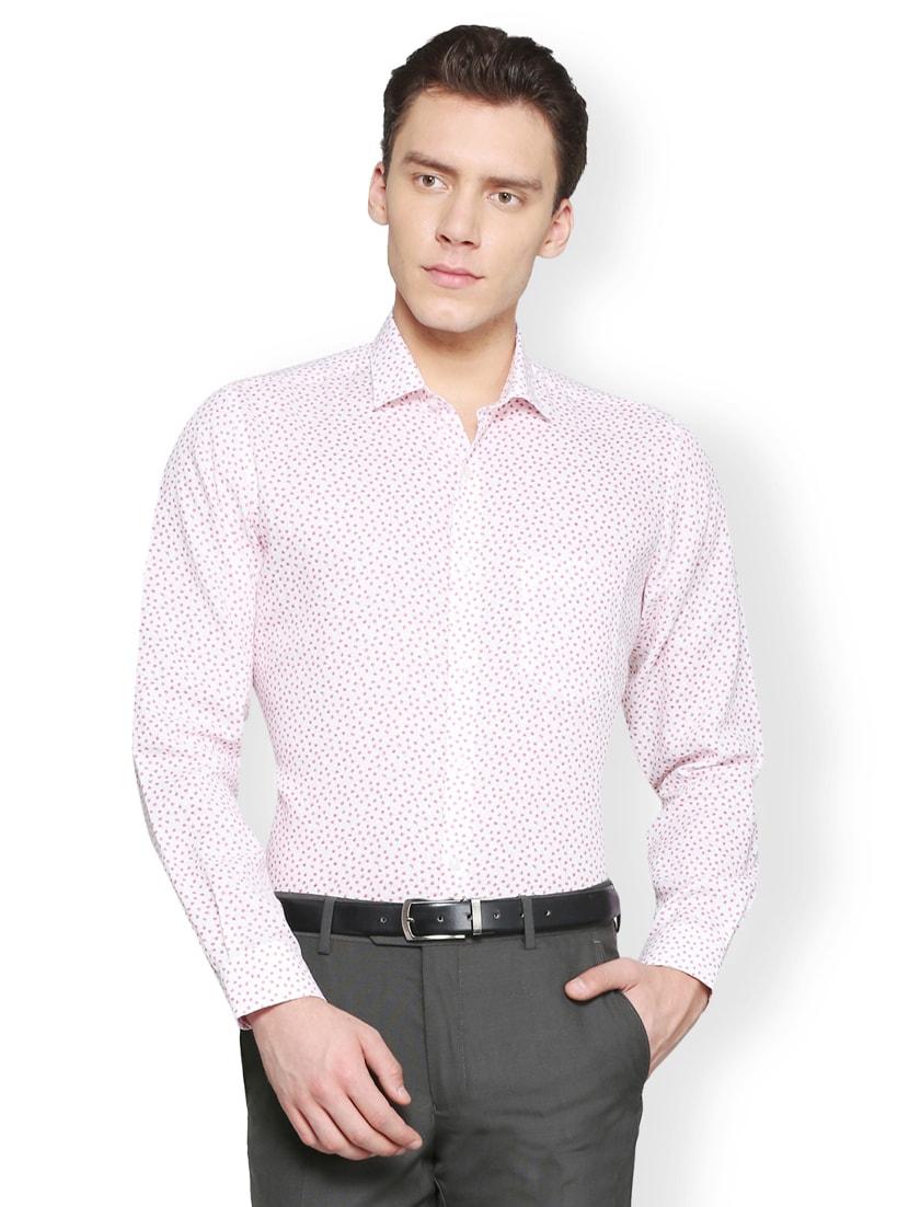 White Linen Formal Shirt