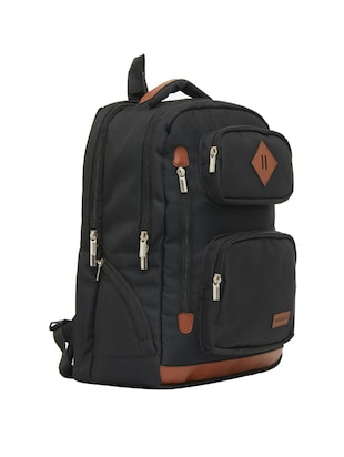 black canvas backpack - 15013361 - Standard Image - 4