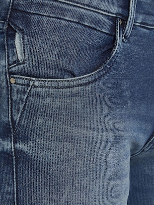 blue denim washed jeans - 15018993 - Standard Image - 4