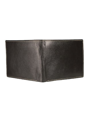 black leather wallet - 15019164 - Standard Image - 4