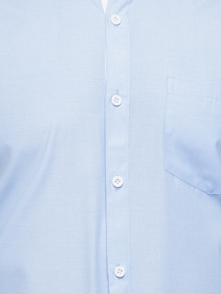 blue cotton formal shirt - 15019705 - Standard Image - 4
