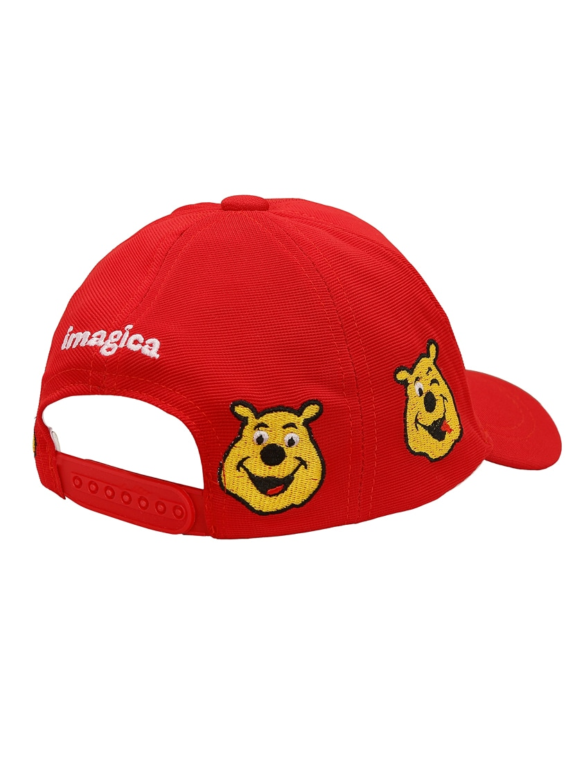 36022e034e2 Buy Red Cotton Blend Cap by Imagica - Online shopping for Caps in India