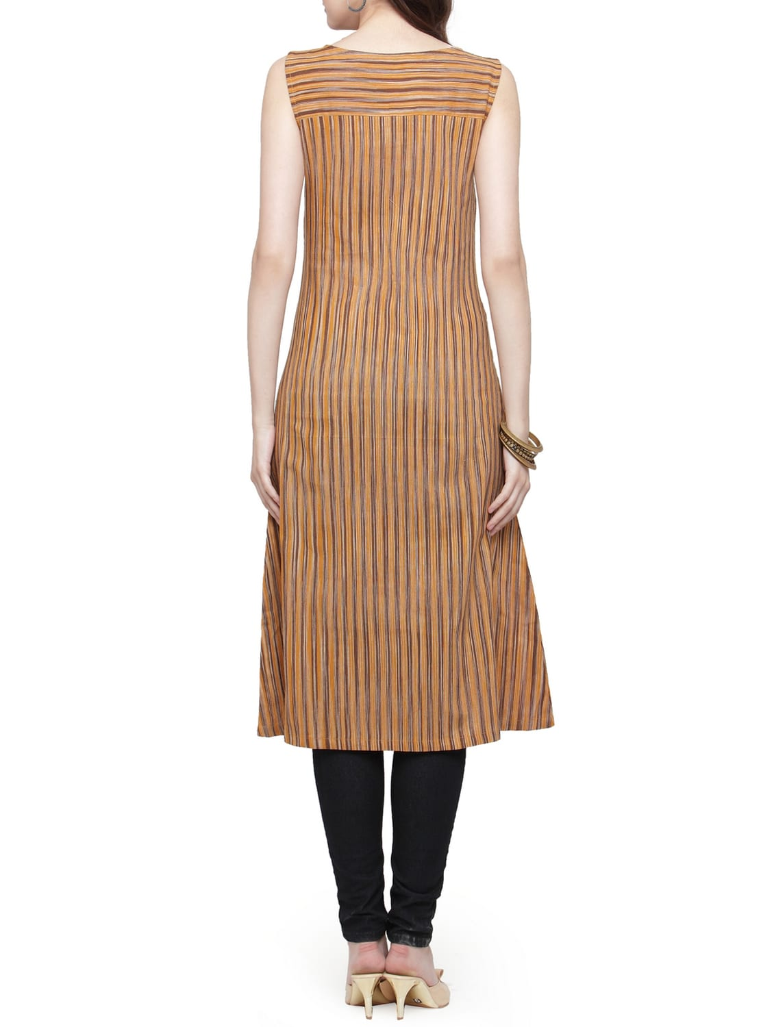 bccaf5c510a Buy Stripes A-line Kurta for Women from Jompers for ₹500 at 41% off ...