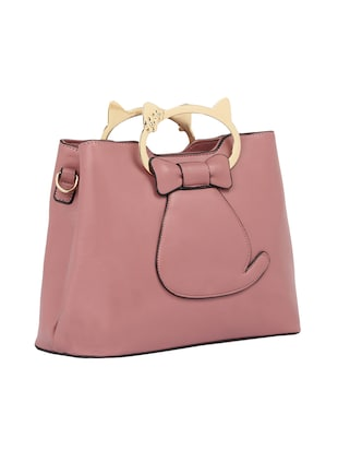 pink leatherette  regular sling bag - 15021660 - Standard Image - 4