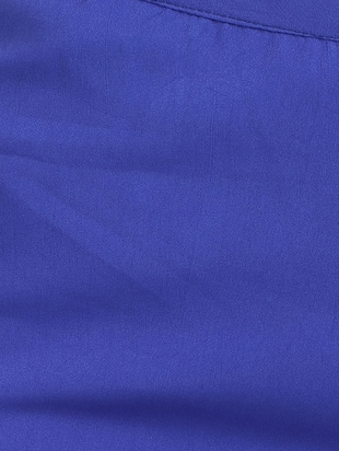 blue crepe palazzos - 15023438 - Standard Image - 4