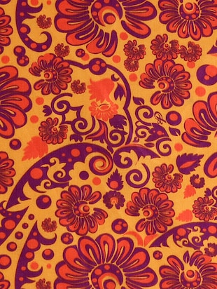 orange polyester pocketsquare - 15024015 - Standard Image - 4