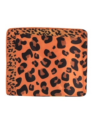 orange polyester pocketsquare - 15024021 - Standard Image - 7