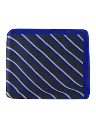 blue polyester pocketsquare - 15024023 - Standard Image - 7